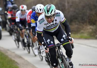 Sagan zet vier man van Quick-Step een neus en wint Gent-Wevelgem