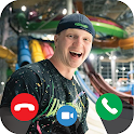Unspeakable Call Me - Fake Call Video icon