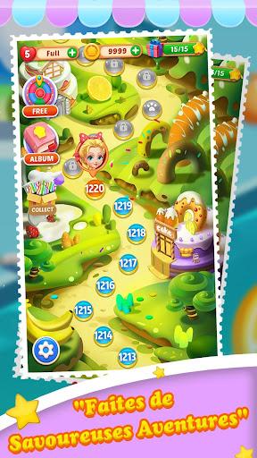 Télécharger Cake Jam Drop apk mod screenshots 5