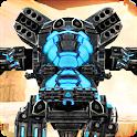 Robo X: Anti Robots Strike War & FPS Shooting Game icon