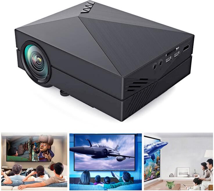 mini projecteur lcd led home cinema 1000 lumens 1920 x. Black Bedroom Furniture Sets. Home Design Ideas