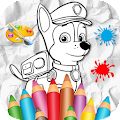 Patrol Coloring Pages Game