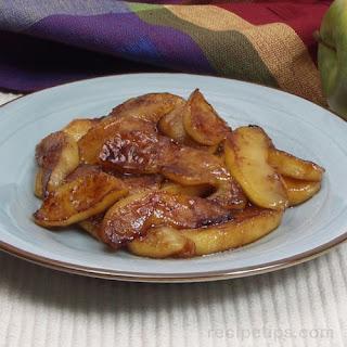 Caramelized Fried Apples.
