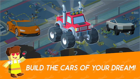 Idle Mechanics Manager – Car Factory Tycoon Game 1.22 APK + Mod (Unlimited money) for Android