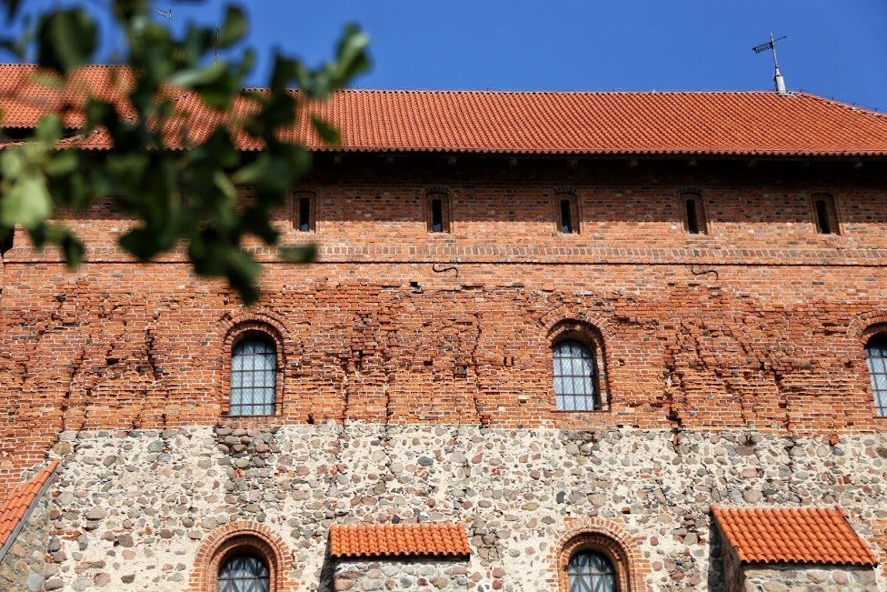 Troki, Trakai, Zamek na wyspie