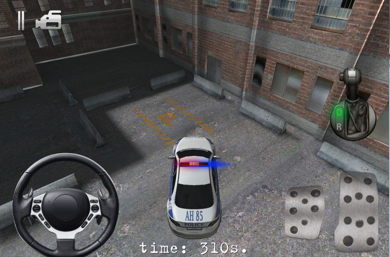 Police Car Parking Driver 3D- screenshot