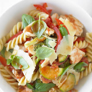Chicken and Vegetable Pasta.
