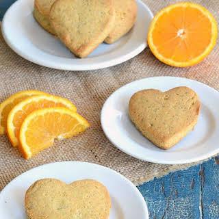 Orange Poppy Seed Scones.
