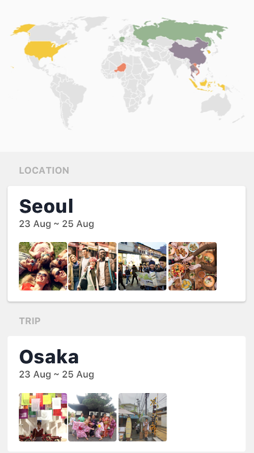 Serentrip - Travel Buddy & Locals- screenshot