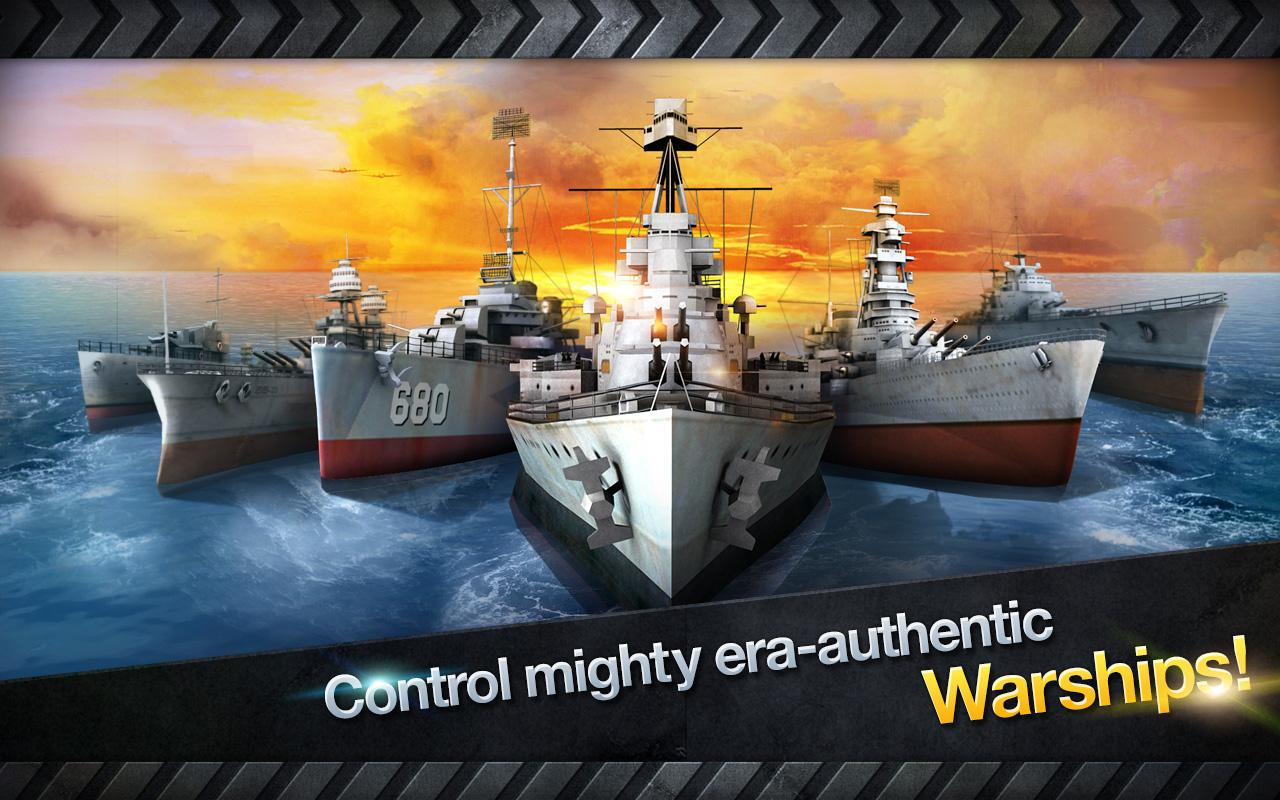 WARSHIP BATTLE:3D World War II- screenshot