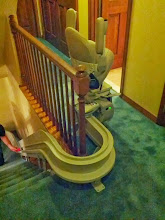 Photo: Bruno | Elite Stair Lift Curved NJ