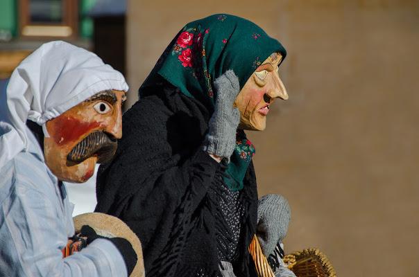 maschere sappadine di Moreno re