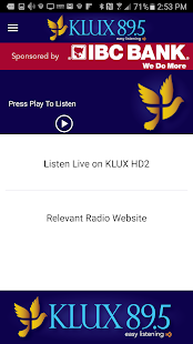 KLUX 89.5HD- screenshot thumbnail