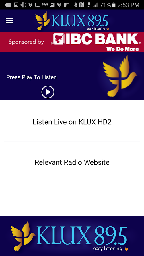KLUX 89.5HD- screenshot