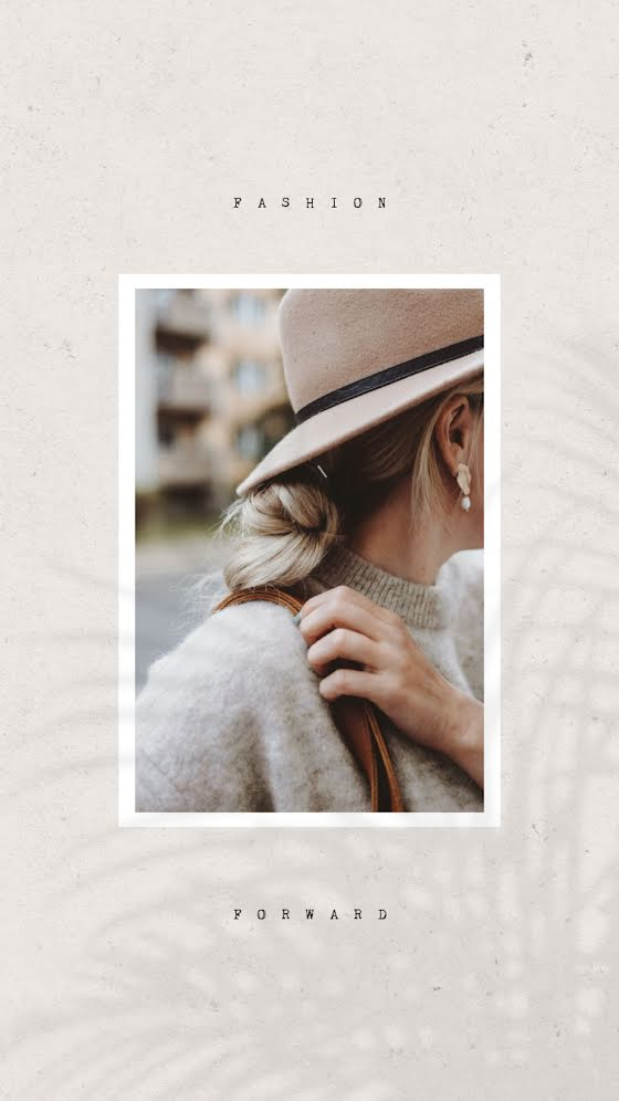 Fashion Forward Style - Facebook Story Template
