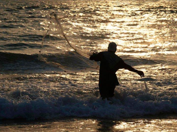 Pesca al tramonto di Gian Luigi