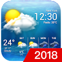 free live weather on screen icon