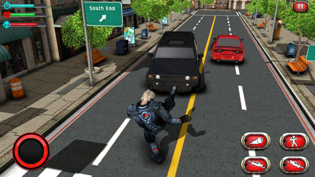 Amazing Hero Ninja City Rescue Game- screenshot
