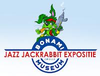 Jazz Jackrabbit expositie in het Bonami SpelComputer Museum