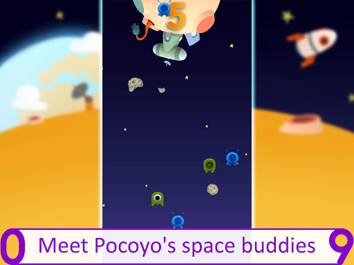Pocoyo 1, 2, 3 Space Adventure: Discover the Stars apkpoly screenshots 13