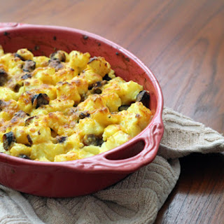 Cheesy Potato and Sausage Breakfast Casserole
