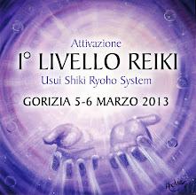 Foto: Attivazione 1° livello Reiki con Vanessa Sartori. 5-6 marzo 2013 a Gorizia.