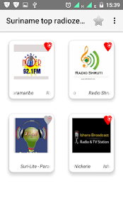 Suriname top radiozenders - náhled