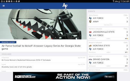 Air Force Falcons Gameday LIVE- screenshot thumbnail