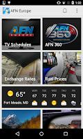 Screenshot of AFN Europe