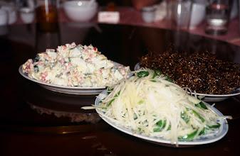 Photo: 03412 二連/市街/レストラン料理