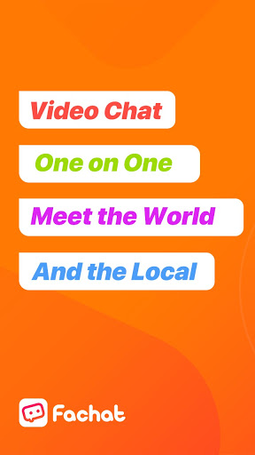 Fachat: Video Chat with New People Online 1.0.5342 screenshots 1