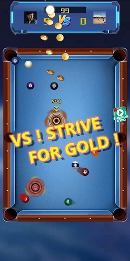 Gyro Collider-Helix Snooker Blast Striker screenshot 1