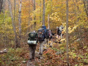 Photo: Backpacking trip, Long Trail, Vermont