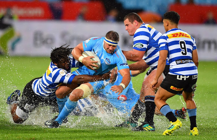Ruan Steenkamp of the Blue Bulls tries to evade a tackle during the Currie Cup game between the Blue Bulls and Western Province at Loftus Versveld in Pretoria on October 13 2018. Picture: BACKPAGE PIX/ JOHAN RYNNERS
