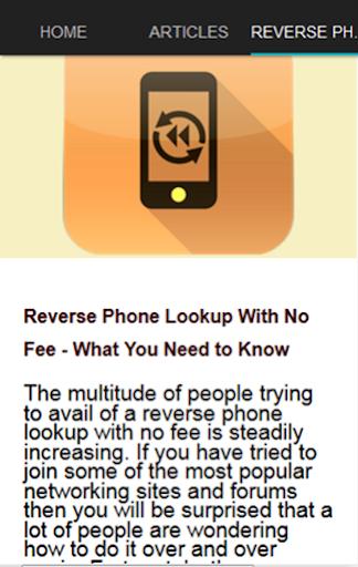 玩免費工具APP|下載反向电话查询 app不用錢|硬是要APP
