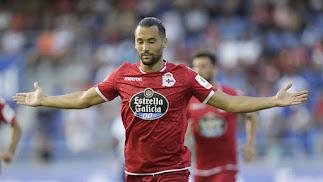 Quique González lleva nueve goles en el Deportivo.