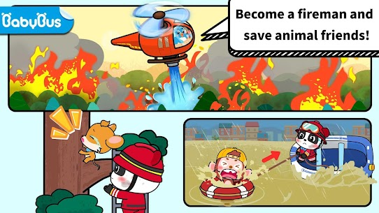Baby Panda's Fire Safety 1