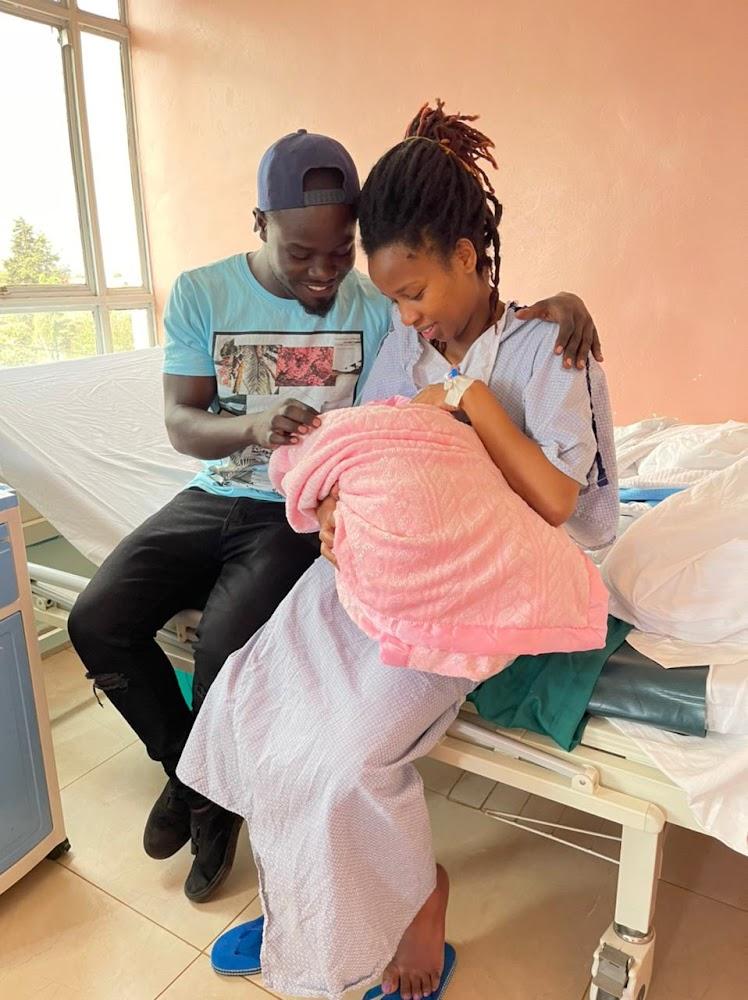 Mulamwah and girlfriend welcome baby girl Keilah