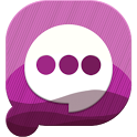 Easy SMS PurpleNight theme icon