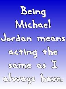 Michael Jordan Famous Quotes - náhled