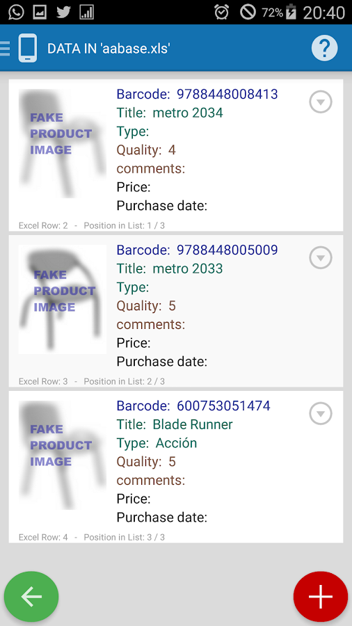 Inventory + Barcode Scanner- screenshot