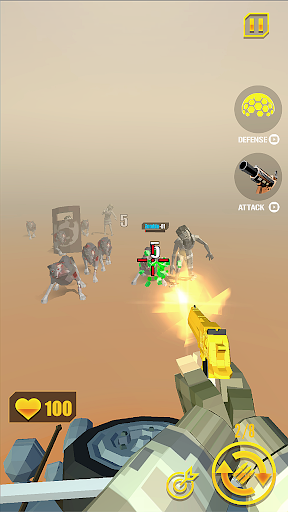 Télécharger zombie shooter: shooting games APK MOD (Astuce) screenshots 1