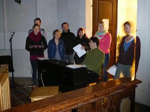 Photo: Und mit schönen Songs des Jugendchores.