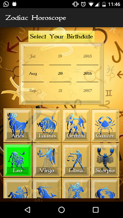 Zodiac Astrology & Horoscope- screenshot