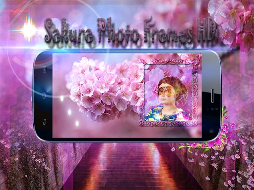 Sakura Photo Frames HD