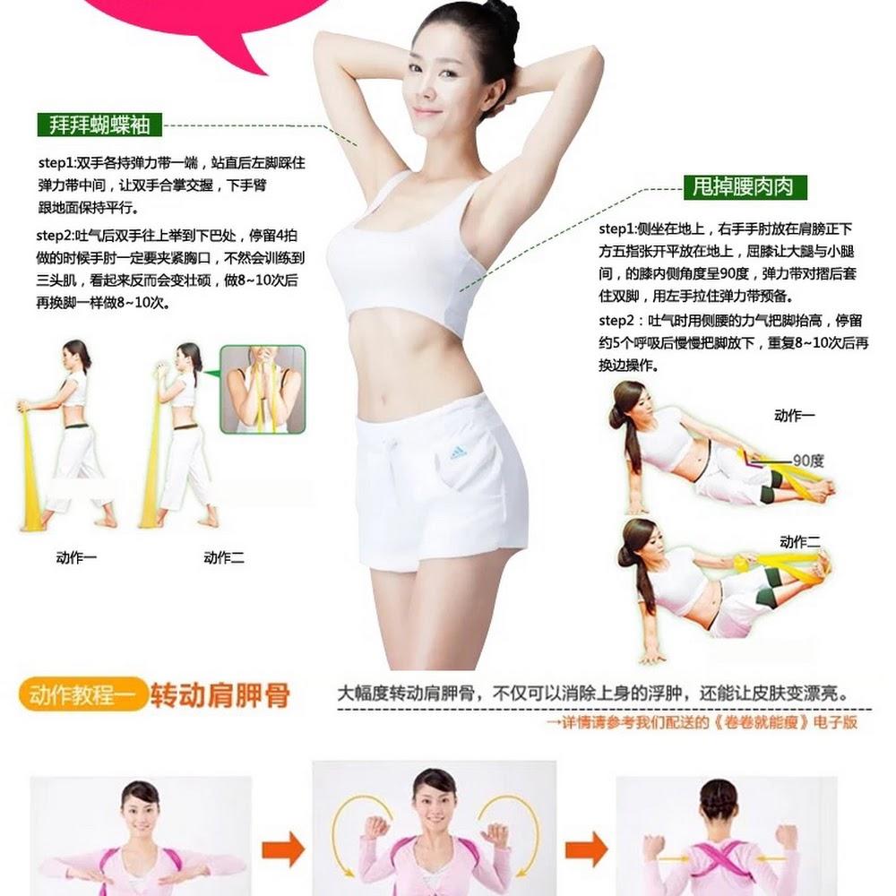 瑜伽拉力帶健身帶 適合男女瘦身力量訓練