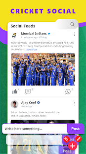 Cricnwin: Live Cricket Scores ,Play, News for IPL Screenshot