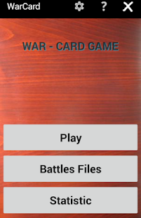 War Card Game- screenshot thumbnail