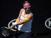 Ysaline Bonaventure boekt knappe overwinning tegen Shuai Zhang op US Open