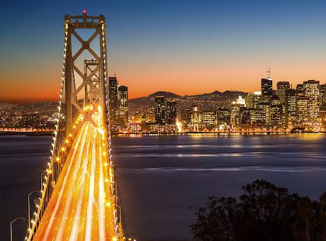 San Francisco at Night 2560x1440